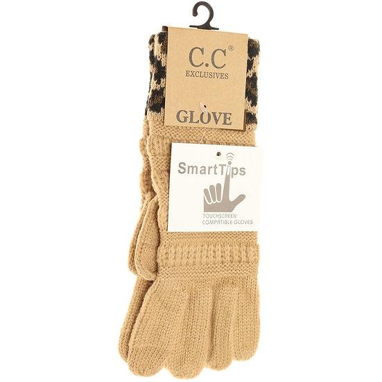 C.C. Camel Smart Tips Gloves
