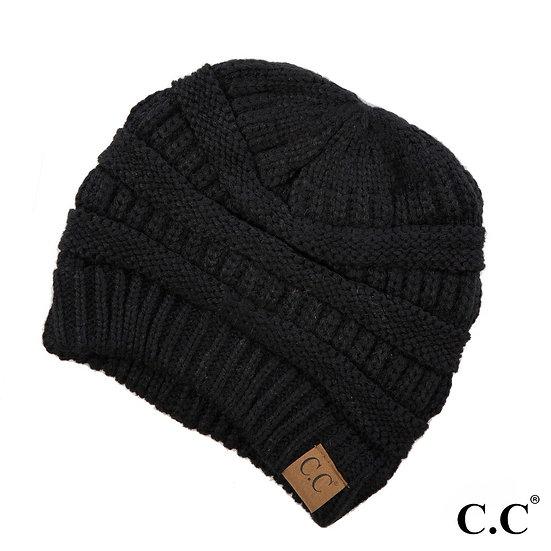 C.C. Black Beanie