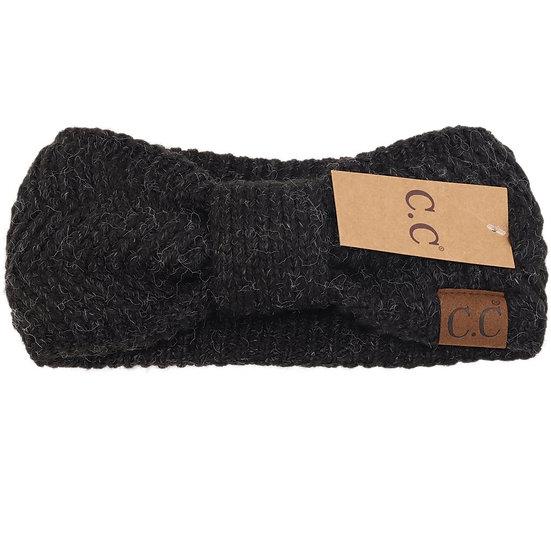 C.C. Black Headwrap