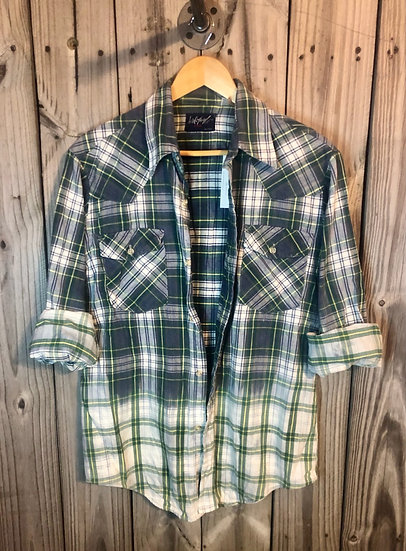 XL Oversized Bleached Flannel