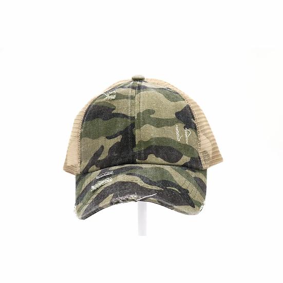 C.C. Camo Print Hat