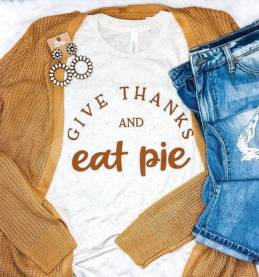 Give Thanks & Eat Pie Tee