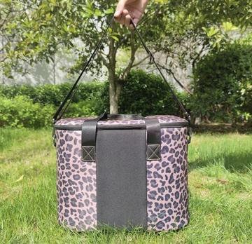 Leopard Print Cooler Bag