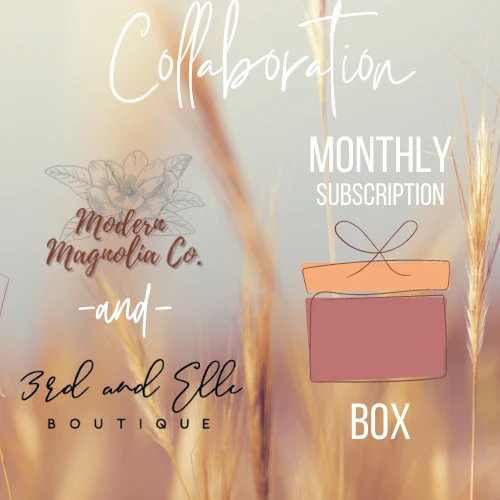 Modern Magnolia Co. & 3rd and Elle Collab Box