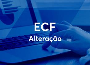 Alteração ECF - 17/09
