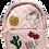 Thumbnail: Morral rosa con apliques modernos
