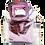 Thumbnail: Cartera Transparente electroplatinada Violeta