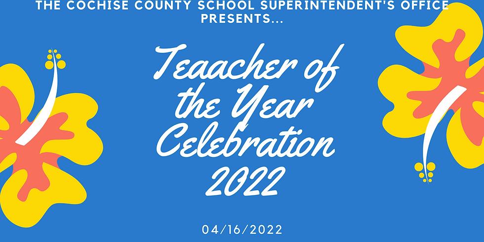 2022 Teacher of the Year Celebration