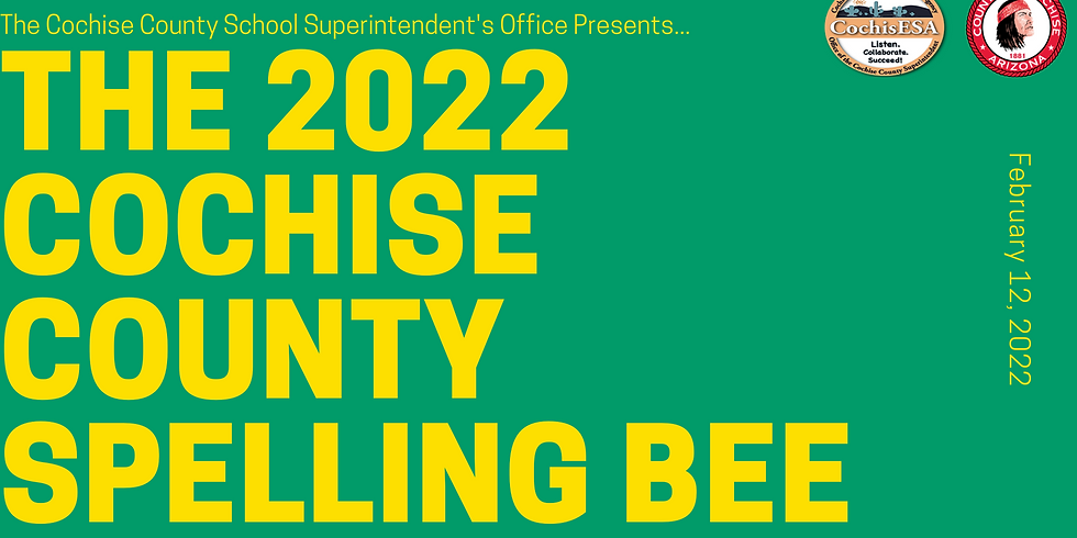 2022 Cochise County Spelling Bee