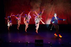 Brian Charles Rooney with dancers Melissa Hunter McCann, Spencer Clark, Ashley Talluto & Devin Riche