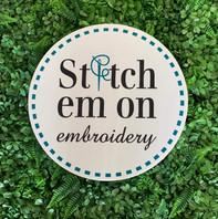 Stitch em on
