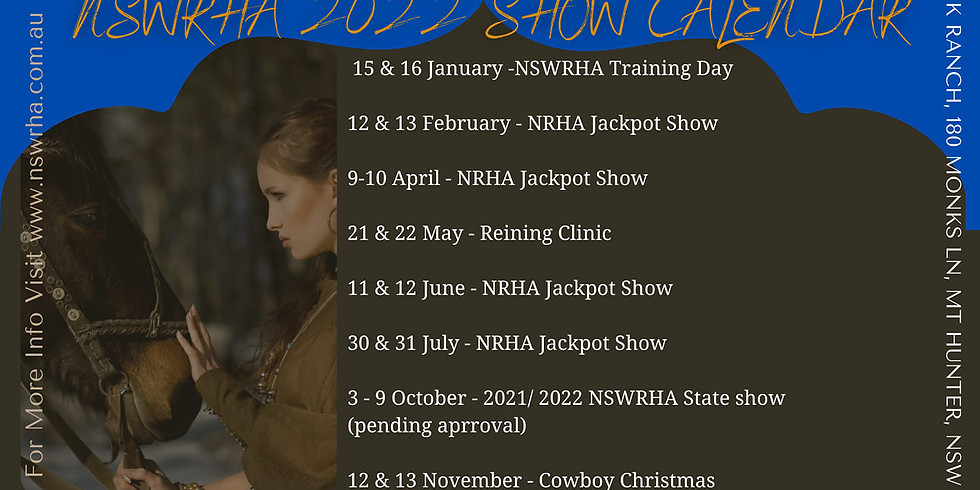 NSWRHA 2022 EVENT CALENDAR