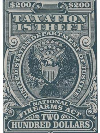 Sticker - Tax Stamp