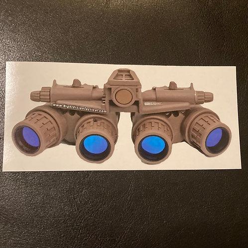 Glow-in-the-Dark Sticker - Pano GPNVG's