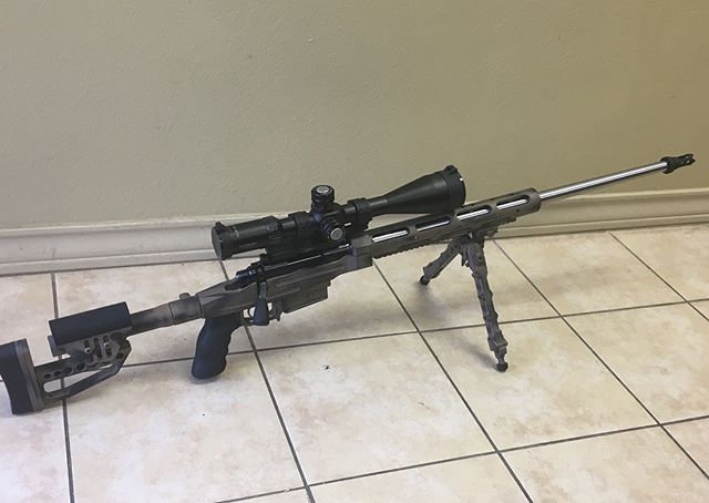 Custom 6.5 Creedmoor!  Can't wait to shoot this one !  Rem 700 Action Trued and Lapped