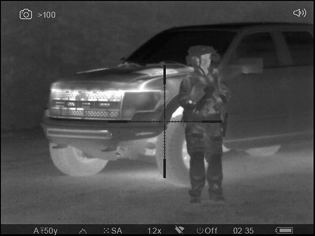 #Repost _leaspeed6_・・・_Pitch black with PVS-14 & Uzi, no IR, yet easily seen with a thermal. #nights