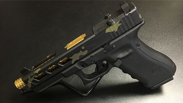 Another Custom Glock 19 in Black Multicam