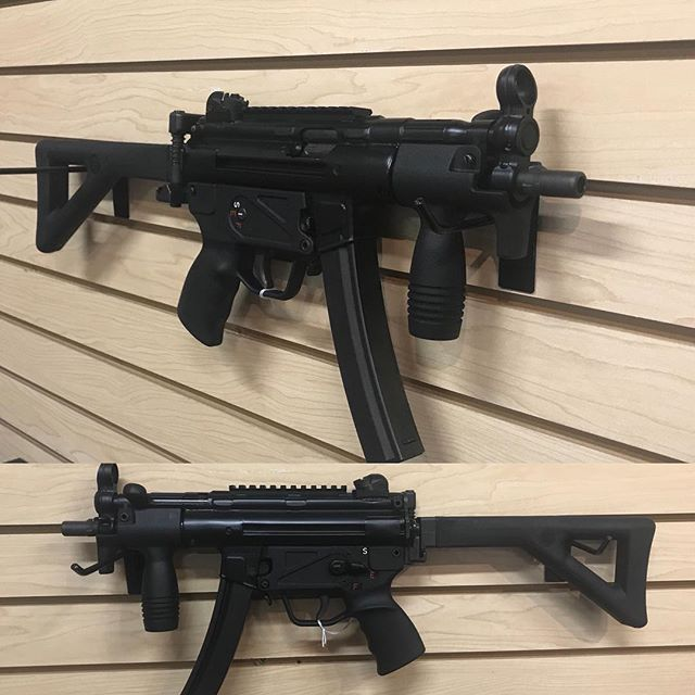 Got this sweet little MP5 SBR in!  Come check it out if you've ever wanted to experience the nostalg
