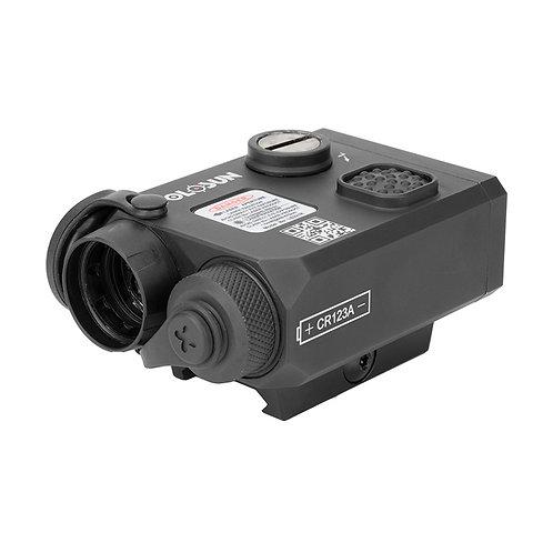 Holosun LS321G - Green, IR Laser and IR Illuminator w/ QD Mount