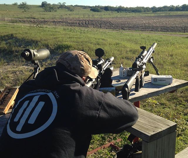 Long range shooting with PWS MK216 Midni