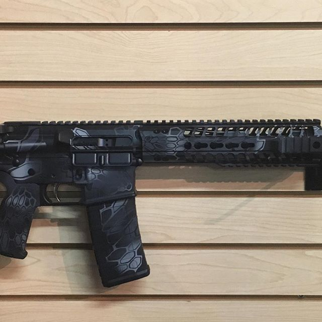 Another Custom Cerakote on a 300 BLK pis