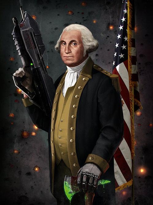 Sticker - George Washington - The Original Master Chief