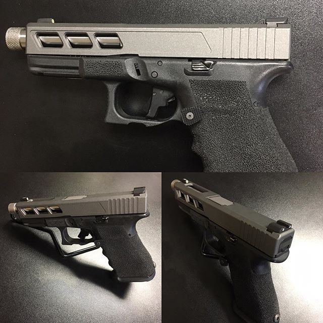Slide Work on Glock 23. Come by the shop and check it out. Great pricing