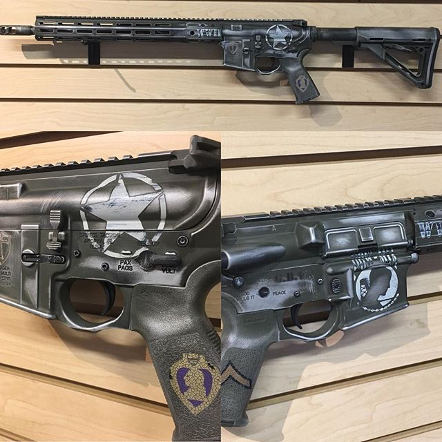 Custom WWII Theme Rifle Build