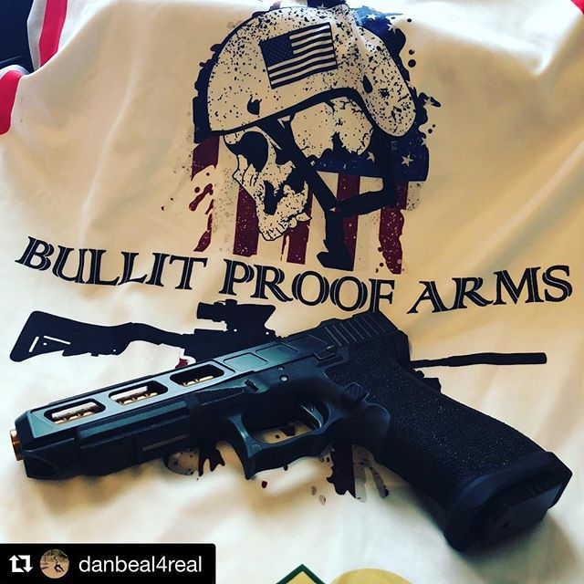 #Repost _danbeal4real_・・・_Loading up for the match. Entered this picture in the #myglock calendar co