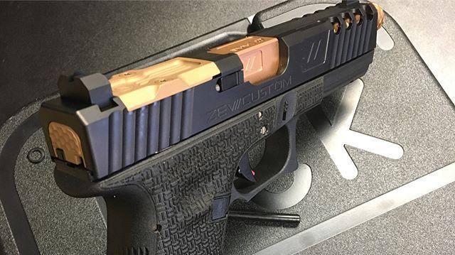 Custom Glock Package !! Zev slide with custom frame work and Zev Barrel!  #bullitproofarms #salaser