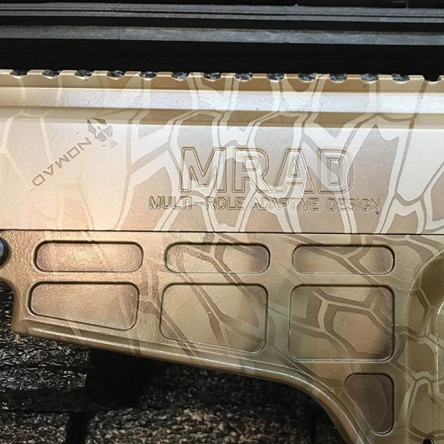 Barrett MRAD in Kryptek Nomad !  Looks a