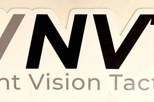 "Sticker - NVT 4"" - Black n White"