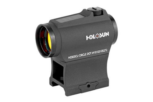 Holosun HS503CU Multi-Reticle Circle Dot 20mm Micro Reflex Sight