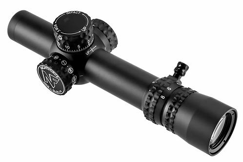 Nightforce NX8 1-8x24mm F1 - ZeroStop - .5 MOA - C600