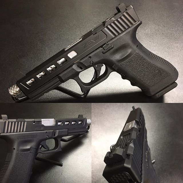 Zev Glock 17 slide and Barrel.  Promo_ Purchase a Zev Slide and get a free drop in trigger group