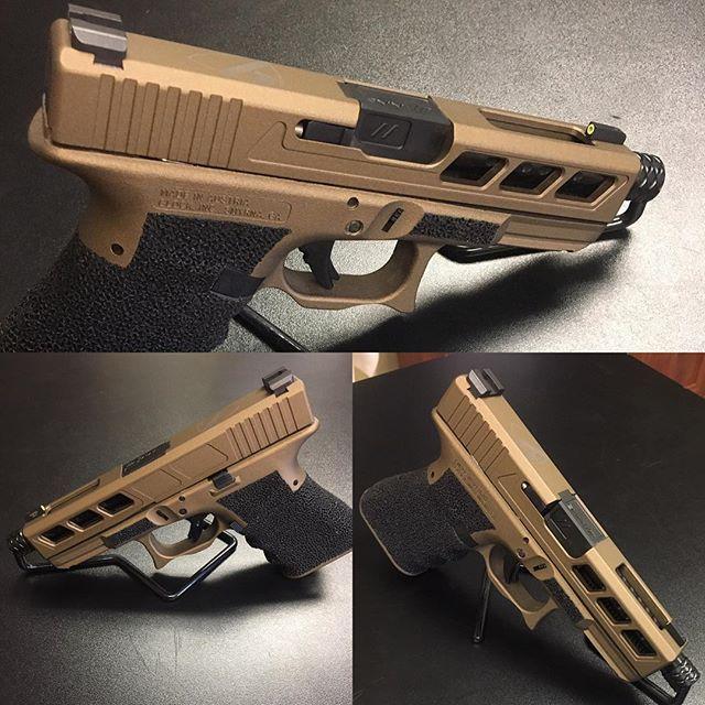 One of our latest Custom Glocks
