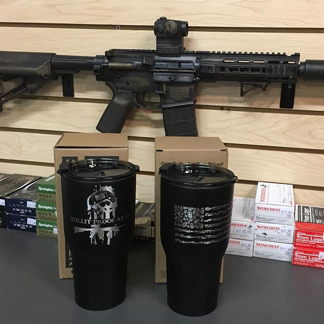 Check our new RTIC Tumblers! 2 side engraving by _jascustomz  Side 1_ BPA logo. Side 2_ PSD Firearms