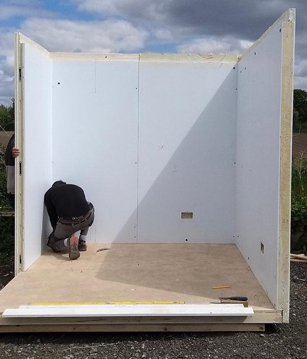 Sip Panel building