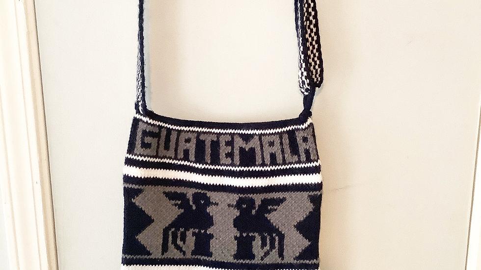 Hand Crafted Artisan Guatemala Knit Purse