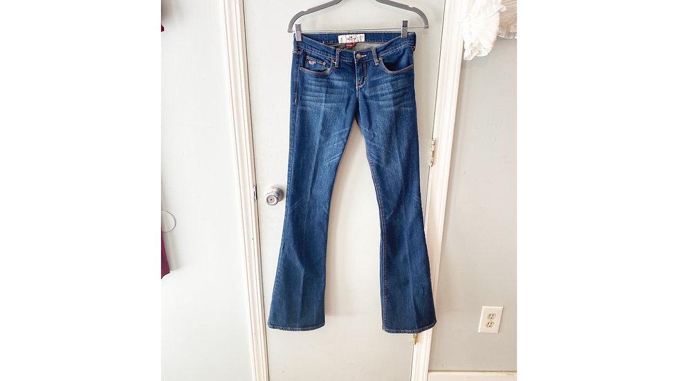 Hollister Social Stretch Flare Jeans Size 3L