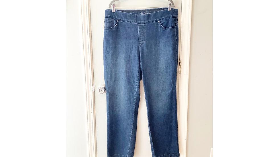 Gloria Vanderbilt Pull On Jeans Size 16W