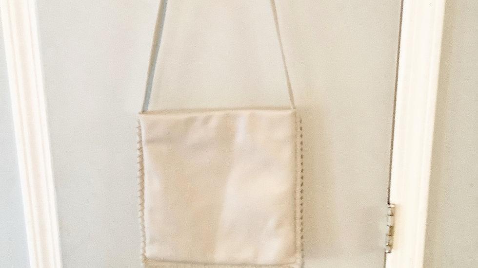 Kenneth Cole Beige Shoulder Bag 11.5X11.5