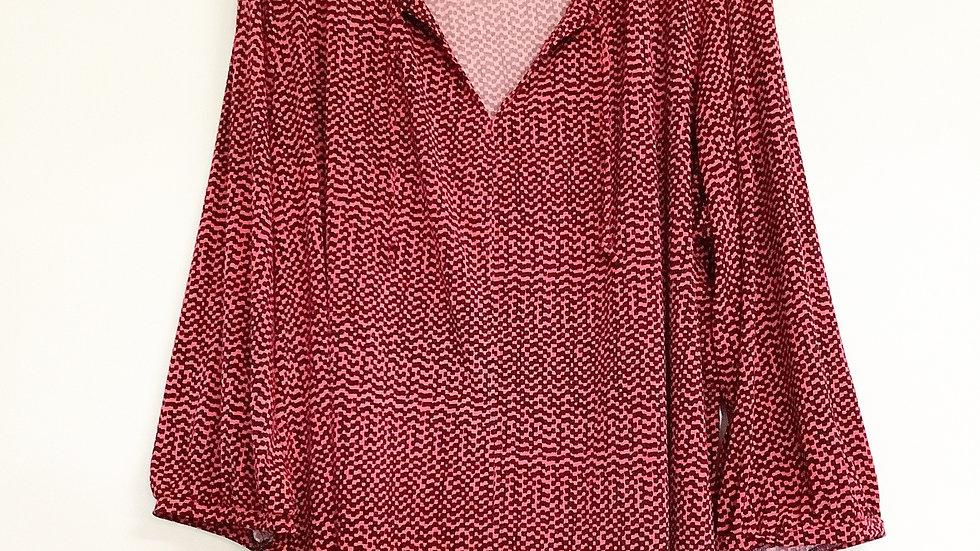 Liz Claiborne Print Tunic Top Size 3X