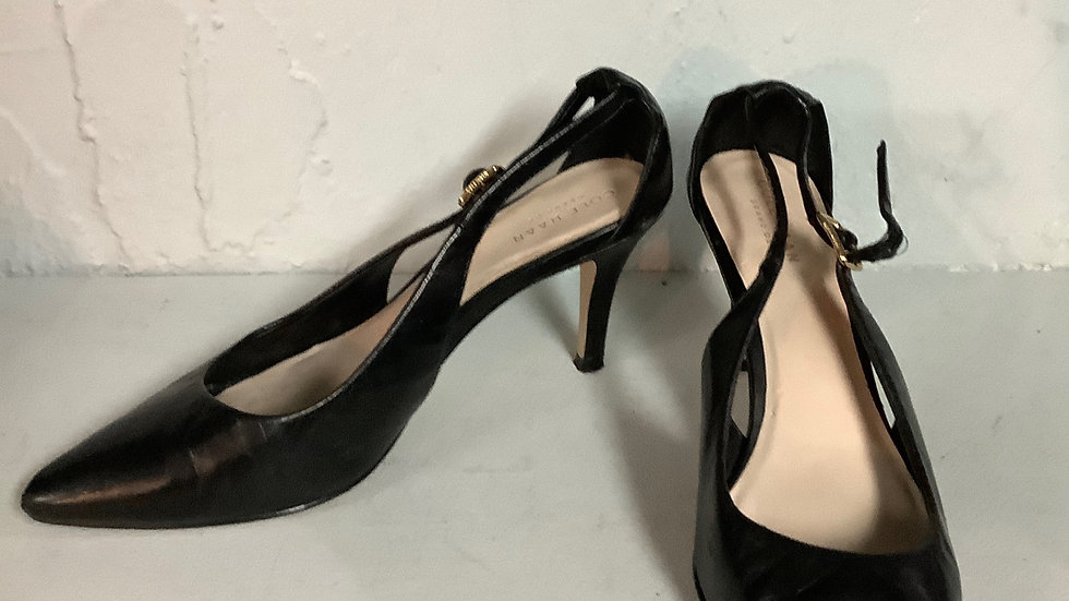 Cole Haan Grand OS Black Closed Toe Heel Size 6.5