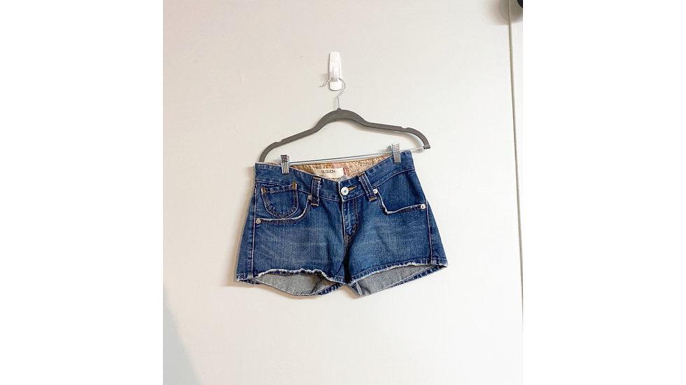 Levi's 504 Slouch Jeans Shorts Size 7
