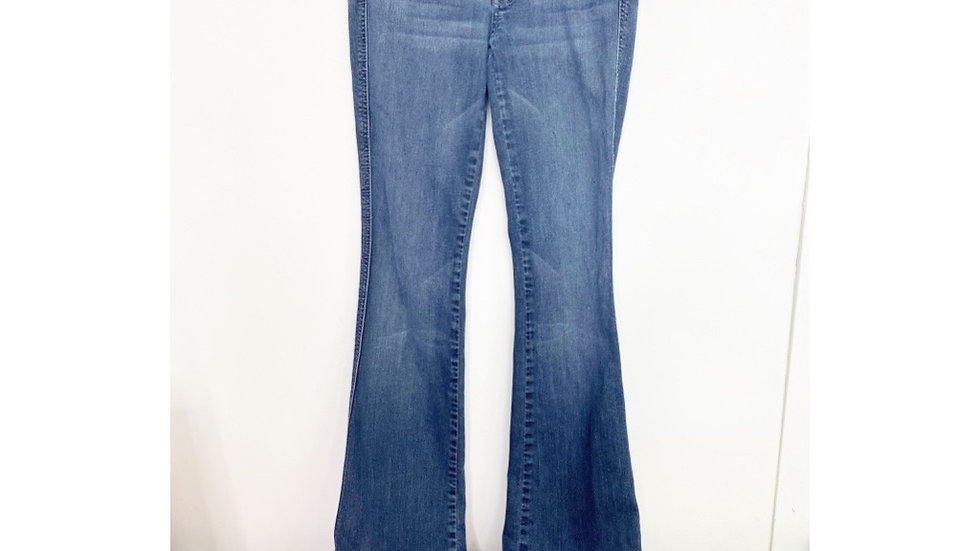 7FAMK A POCKET BOOT CUT JEANS Sz 26