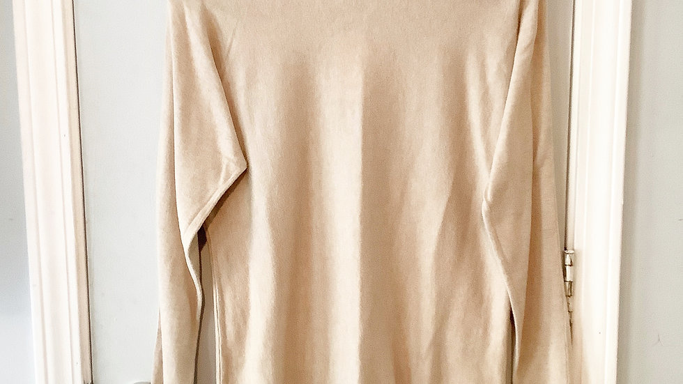 Michael Kors Tan Cotton Blend Top Size S