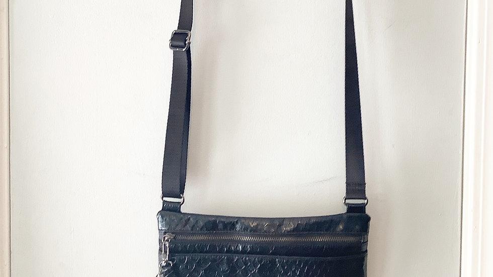 Kenneth Cole Snake Embossed Crossbody Bag