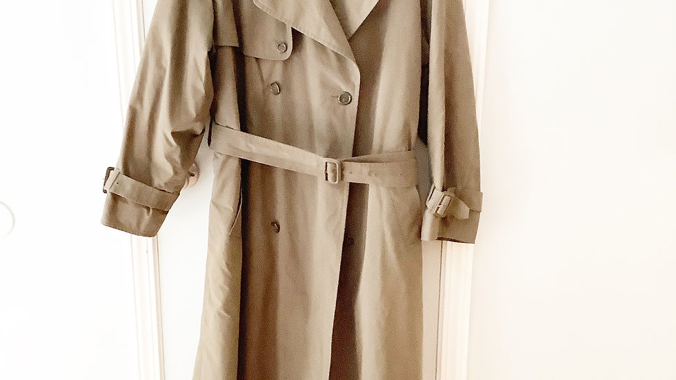 London Fog Men's Trench Coat Size 40R