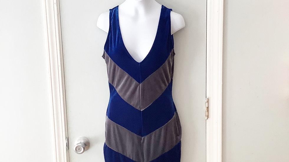 NEW Uptown Velour Sleeveless Dress Size M
